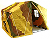 Barrack Sergeant Camouflaged German Stabzelt Tent 1/6