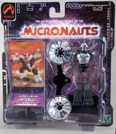 Micronaugts Acroyear - Gold