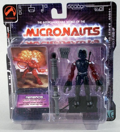 Micronauts Membros - Clear