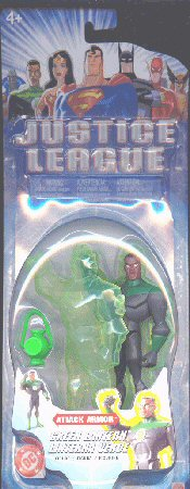 Mattel Justice League Attack Armor Green Lantern