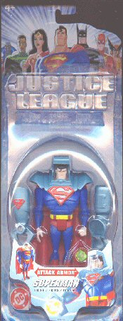 Mattel Justice League Attack Armor Superman