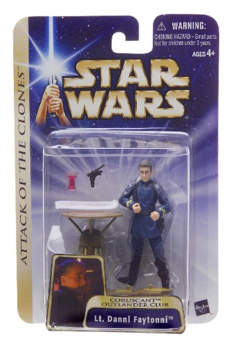 Star Wars Saga Lt. Dannl Faytonni C-8