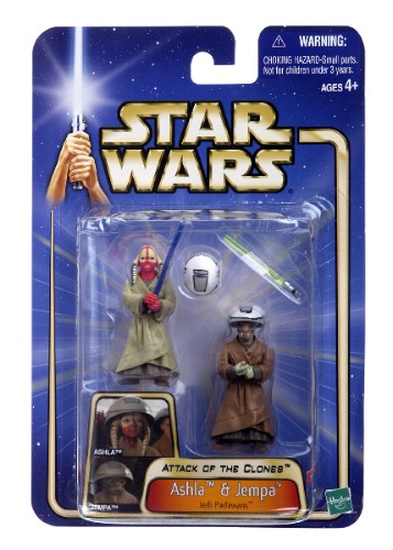 Star Wars Attack of the Clones Ashla & Jempa