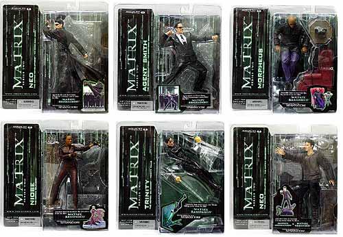 McFarlane's Matrix Series 2 Agent Smith