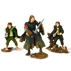 Play Along Lord of the Rings Pippin, Merry, Boromir 3 pack