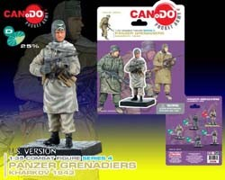 Dragon CanDo Panzer Grenadier Kharkov 1943 MP-40 Pose
