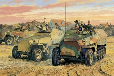 1/35 Sd.Kfz. 251 Half track (3 in 1 kit) plus Bonus Features