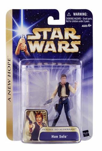 """Star Wars Saga Han Solo """"Flight To Alderaan""""  C-7/8"""