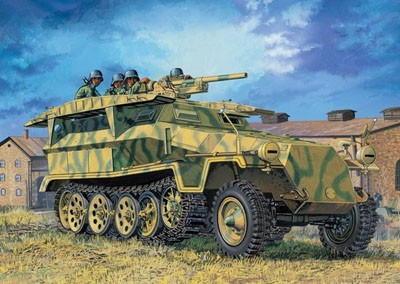 Dragon Sd. Kfz. 251 Ausf. C (3 in 1 Kit) w/ BONUS FEATURES