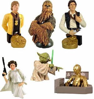Star Wars Bust Ups Series 1 Set
