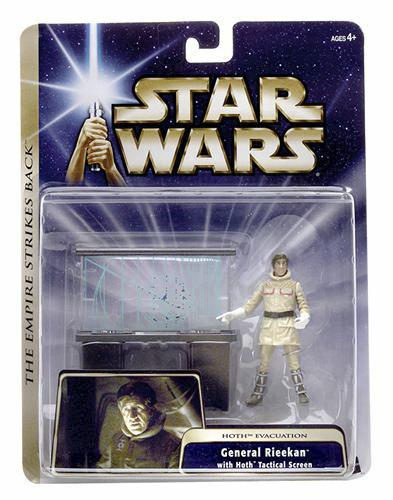 Star Wars Deluxe Hoth Evacuation General Rieekan C-7