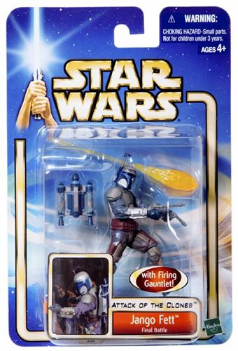 Star Wars Attack of the Clone Jango Fett