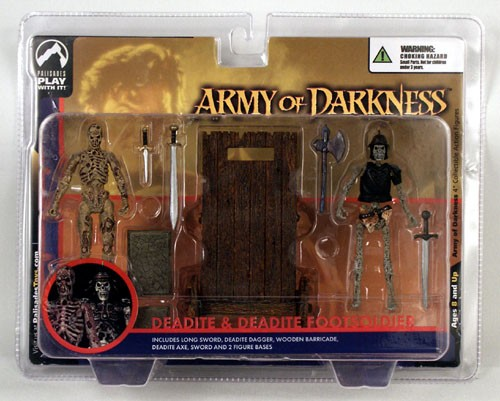 Palisades Army of Darkness Deadite & FootSoldier