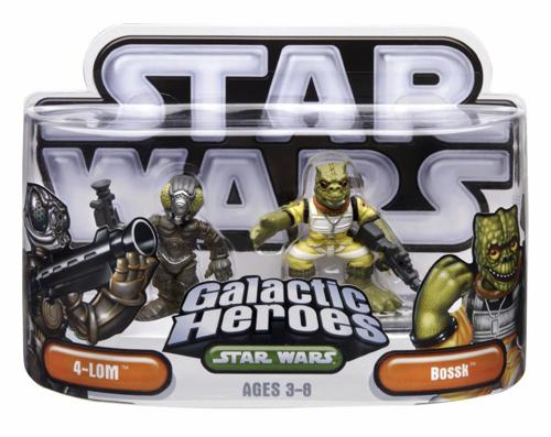 Star Wars Galactic Heroes IG-88 and Bossk C-9