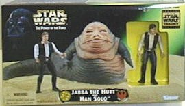 Star Wars Beast Assortment Han & Jabba C-9