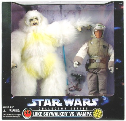 Star Wars POTF2 12 inch Wampa & Luke