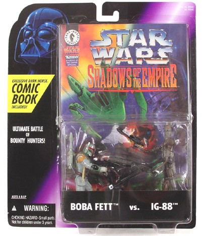 Star Wars Shadows of the Empire Boba vs IG-88