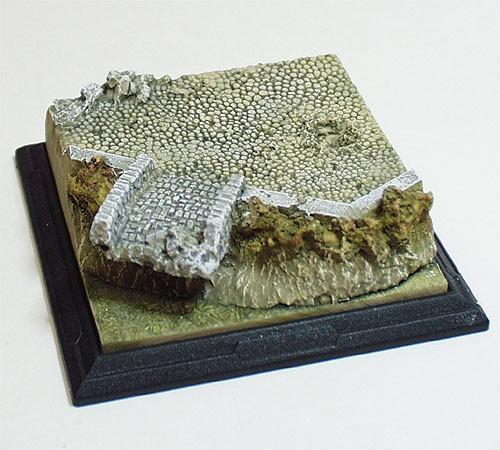 """Micro-D Origin-EX: (3"""" diorama)  Bridge Desert Scheme"""