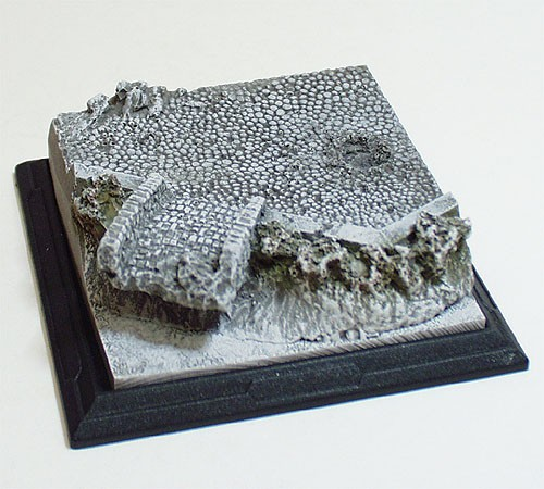 "Micro-D Origin-EX: (3"" diorama)  Bridge Winter Scheme"