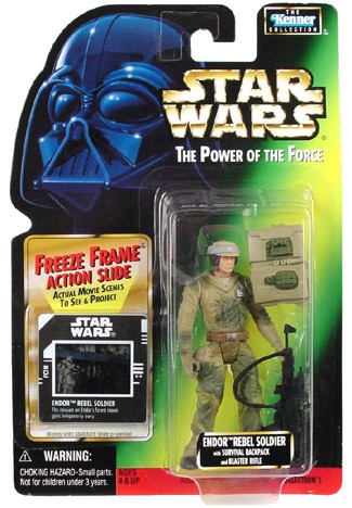 Star Wars POTF2 FF Endor Rebel Soldier C-8