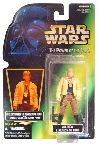 Star Wars POTF2 Luke Ceremonial Collection 1