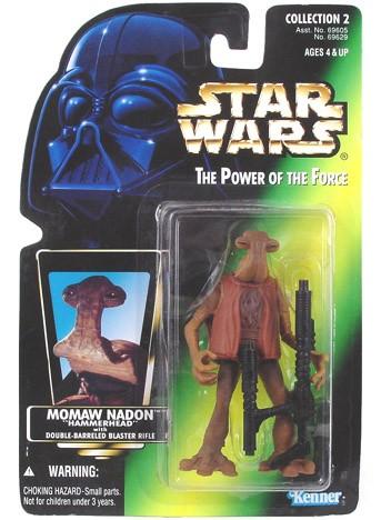 """Star Wars POTF2 Momaw """"Hammerhead"""""""