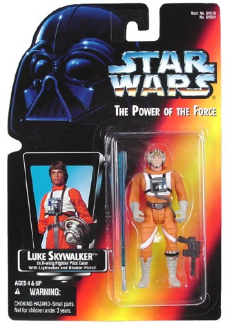 Star Wars POTF2 Luke Skywalker X-Wing