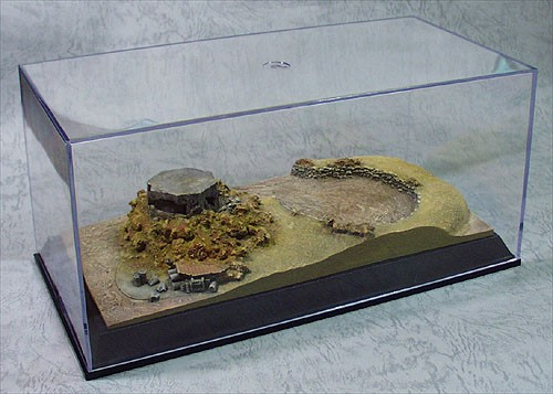 Micro-D Diorama with Display PillBox Desert