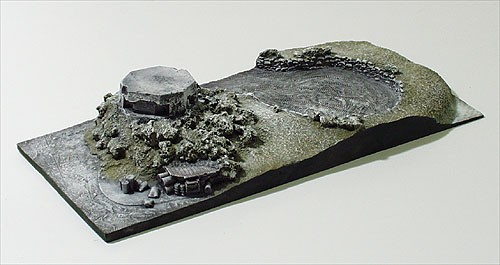 Micro-D Diorama with Display PillBox Winter
