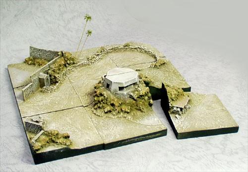 Micro-D 9 piece Diorama Set Special Edition Desert