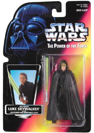 Star Wars POTF2 Luke Skywalker Jedi Knight