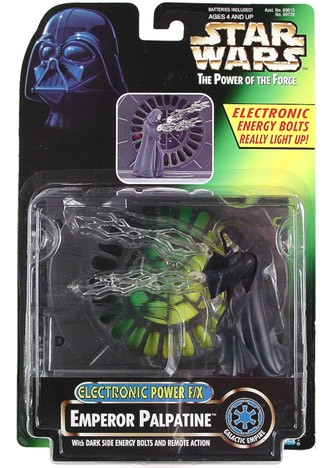 Star Wars Electronic Power FX Emperor Palpatine