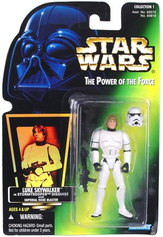 Star Wars POTF2 Luke StormTrooper