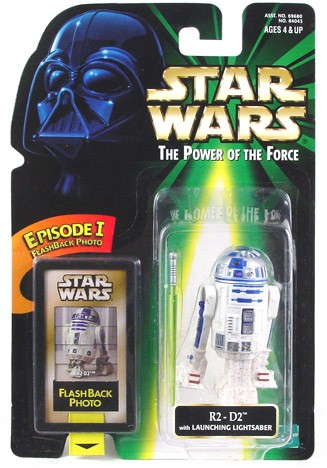 Star Wars POTF2 Flashback R2-D2