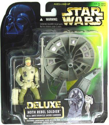 Star Wars POTF2 Deluxe Hoth Rebel Trooper C-8