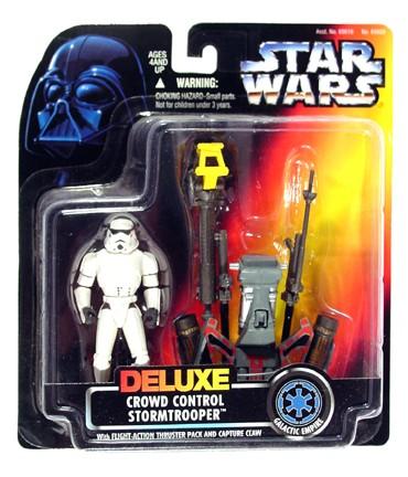Star Wars POTF2 Deluxe Crowd Control Stormtrooper