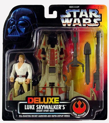 Star Wars POTF2 Deluxe Luke Skywalker