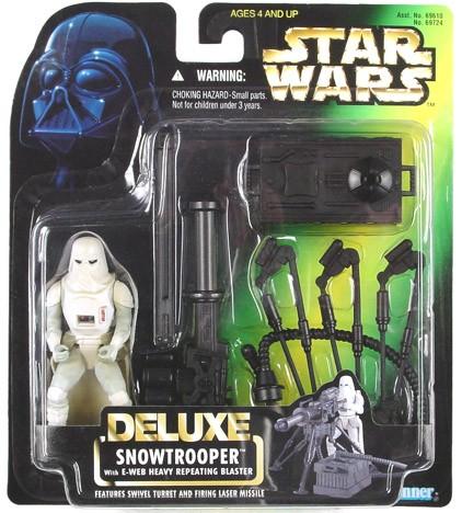 Star Wars POTF2 Deluxe Snowtrooper