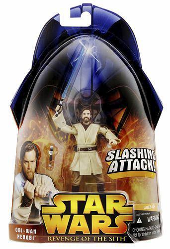 Star Wars Revenge of the Sith Obi-Wan Kenobi Slashing Attack C-8