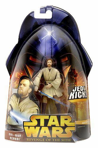 Star Wars Revenge of the Sith Obi-Wan Kenobi Jedi Kick C-9